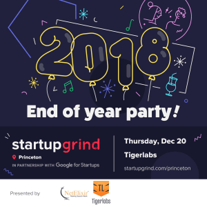 Startup Grind Princeton Holiday Party