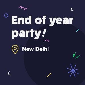 New Delhi 2018 SG Year End Party