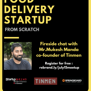 We are hosting Mukesh Manda co-founder of Tinmen