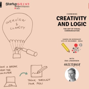 SOLD OUT! Combining creativity and logic: The art of visual communication