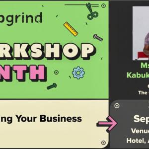 We are hosting Ms Judith Kabukie Ocansey