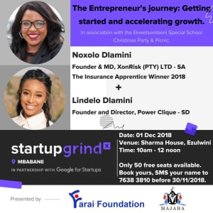 The Entrepreneur's journey: Getting started and accelerating growth.