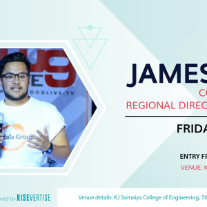 Fireside chat with James Da Costa (Mandala Group & Hult Prize 1 Million$)