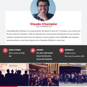Startup Grind Maputo com Claude Champier