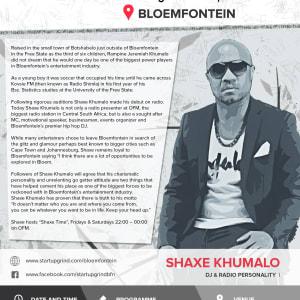 Startup Grind Bloemfontein Hosts Shaxe Khumalo