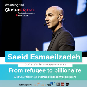 Saeid Esmaeilzadeh: From refugee to billionaire through Serendipity