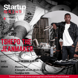 Fireside Chat with  Tshepo Mohlala ( Tshepo the Jean Maker)