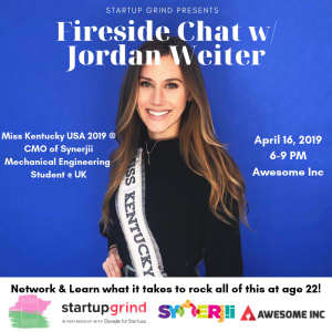 Fireside Chat with Jordan Weiter (Miss KY USA)