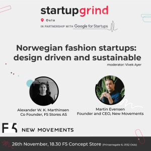 Norwegian Fashion Startups: Design Driven and Sustainable