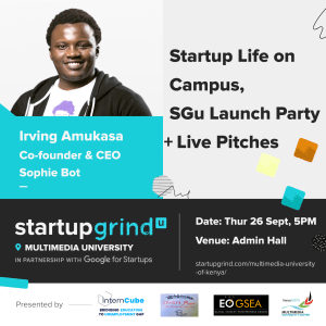 Launch Party + Conversations On Student Startup Life and Pitching