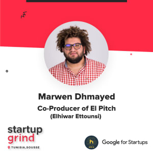 Startup Grind Fireside Chat with Marwen Dhmayed