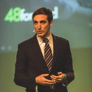 Egomnia CEO, Matteo Achilli