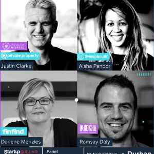 Fintech, Blockchain or AI - what is the future of entrepreneurship in Durban? ( 4 x speakers)