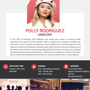 We are hosting Polly Rodriguez