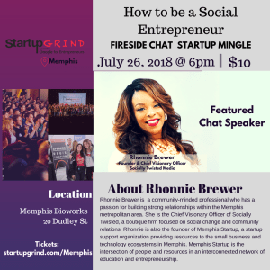 How to be a Social Entrepreneur with Rhonnie Brewer (Socially Twisted)