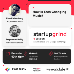 Christmas Talk and Networking Party: How is Tech Changing Music?