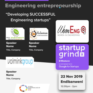 An all female Panel Discussion on Developing Successful Engineering Startups