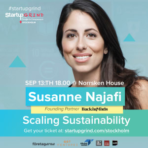 Scaling Sustainability with Susanne Najafi
