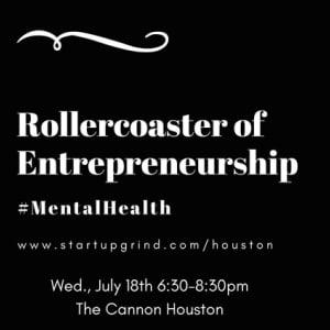 The Roller Coaster of Entrepreneurship #MentalHealth
