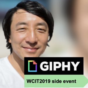 [WCIT2019 side-event] The man, the GIF, the legend: An interview with Giphy founder Alex Chung