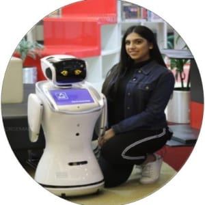 We are hosting Shaima Almeer, the first fin-tech Robot Programmer in Bahrain (BisB AI- agent)