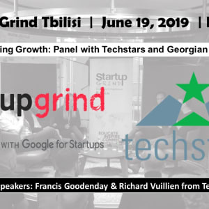 Accelerating Growth: panel with Techstars and Georgian Founders