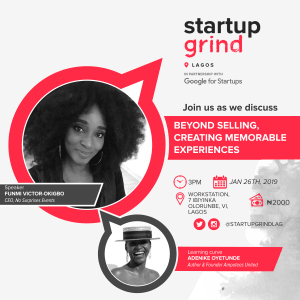 We are hosting Funmi Victor-Okigbo (Founder, No Surprises Events)