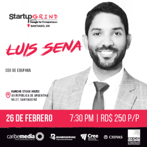 Luis David Sena: Diseñando sueños académicos; construyendo empresas brillantes