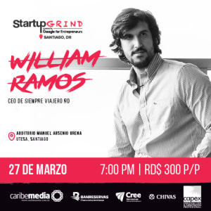 William Ramos: viajar como un viajero, emprender como un visionario