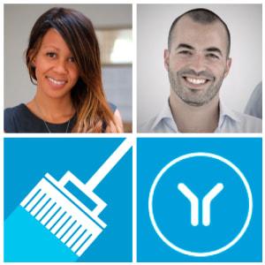Aisha Pandor & Carl Wazen (SweepSouth & Yoco)
