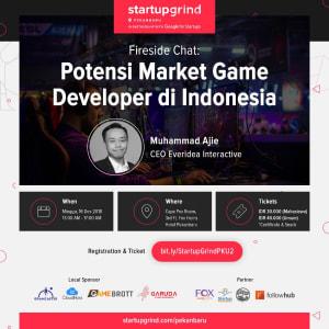 We are Hosting Muhammad Ajie (CEO Everidea Interactive)