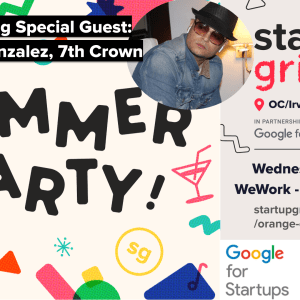 Summer Party Featuring Special Guest Bryan Gonzalez (7th Crown)