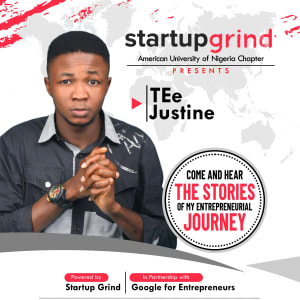 We are hosting TEe Justine of the TEe Justine Creative Design Agency