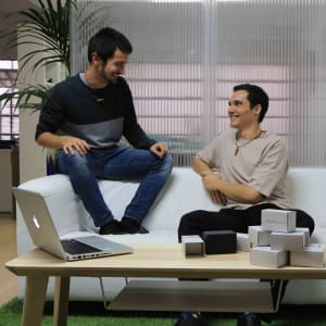 Jewelry out of sound waves - Javier Jimenez & Javier Perez (Founders - Tot-em)