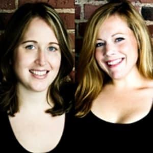Christine Bird and Caitlin MacGregor (Plum)