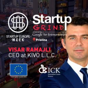 We are hosting Visar Ramajli (CEO KIVO)