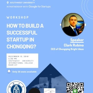How to build a successful startup in Chongqing ?