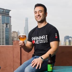 Florian Bohnert Interviews Kia Parsai (Founder, Shanghai Love Brewing) at Startup Grind