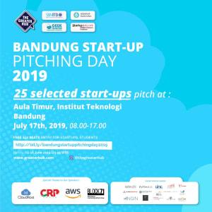 BANDUNG STARTUP PITCHING DAY 2019