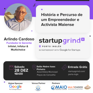 História e Percurso de um Empreendedor e Ativista Maiense