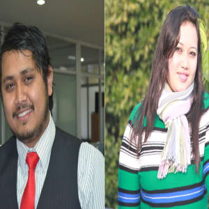 Chandra & Eliza Shrestha (Nepal Loadshedding App)