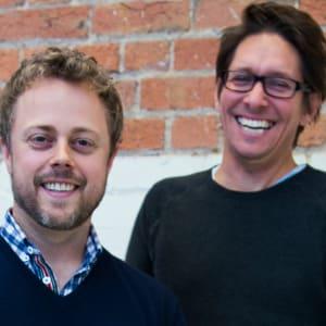 Justin Dry and Andre Eikmeier (Vinomofo)