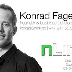 Konrad Fagertun (nLink & Rocketfarm)