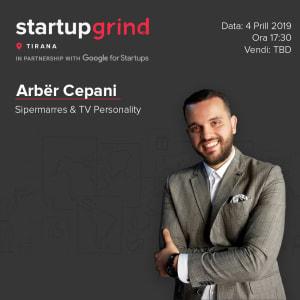 We are hosting Arbër Çepani