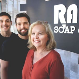 Sue, Zak & Max Kerber (RAD Soap Co.)