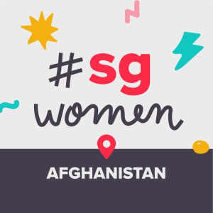 SGWomen at Kabul Afghanistan