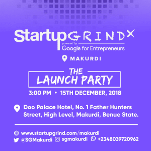 Launch Party of Startup Grind Makurdi