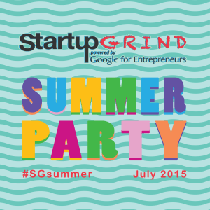 Startup Summer Party (Hosted @ Tirana Business Park)