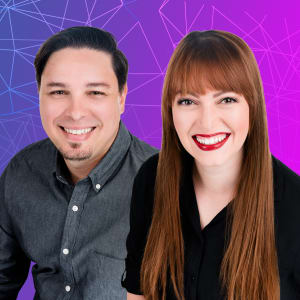 Frank Valcarcel and Emily Morehouse-Valcarcel, Cofounders of Cuttlesoft
