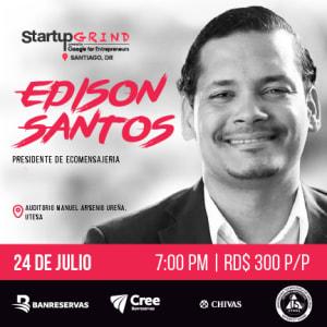 Edison Santos: emprendedor social que busca cambiar el mundo en cada entrega